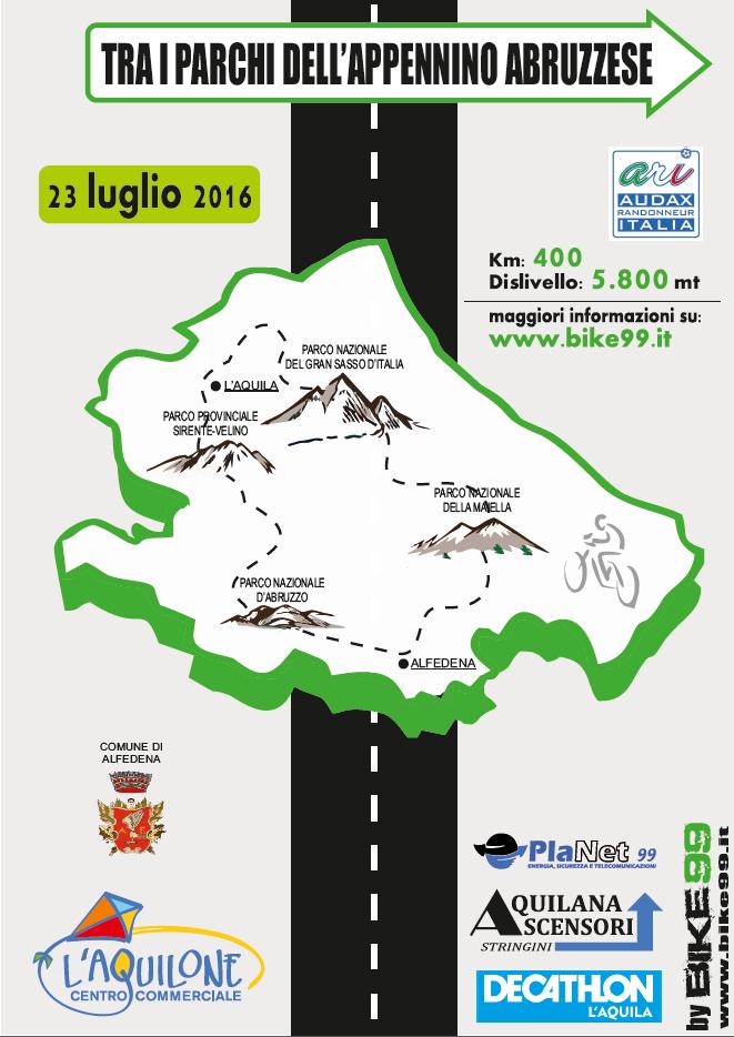 Locandina 400km 2016