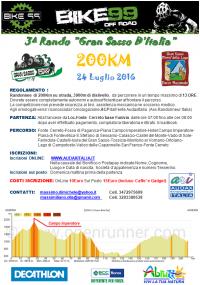 Regolamento Rando Gran Sasso D'Italia 2016