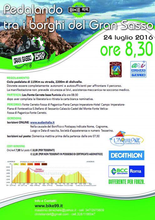 Ciclopedalata tra i Borghi 2016