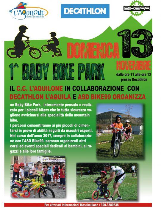 Locandina Baby Bike Park