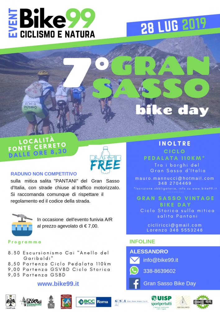 Locandina Gran sasso Bike Day 2019